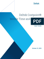 Timesheet App Guidance for Deltek 10