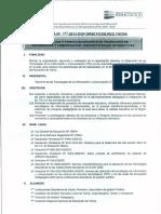 directiva capacitacion
