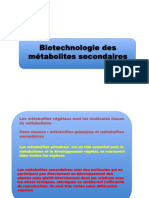 COURS Metabolites Secondaires