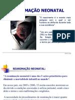Aula 6 - Reanimação Neonatal