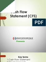 4.Cash Flow Statement (CFS)