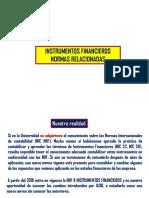 I. Instrumentos Financieros Normas Relacionadas NIC 32