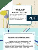 PPT FARMASI FISIKA KONSTANTA DIELEKTRIK.pptx