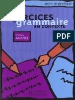 257697999 Grammaire en Contexte Avance PDF