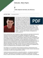 Steve Taylor Acitivismo y Espiritualidad PDF