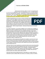 V de Verso - Antonio Cícero