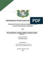 Tesis Análisis financiero y visión de gobierno interno en la cooperativa de ahorro y crédito los Andes.docx