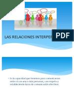 relaciones interpersonales en el trabajo