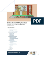 Getting Started With Python IDLE – Real Python