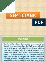 Teori Septic Tank