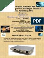 aula18.UFABC.MTI.3Q2019.2611 - Amplificadores ópticos