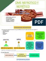 Sindrome Nefrotico y Nefritico- g14 Sg3