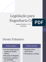 Aula - Legislação Tributária - Pt 01