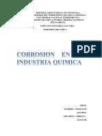 Corrosion en Las Industrias