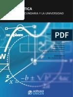 Matemática de la secundaria a la universidad Unicen