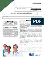 EBSERH 2015 - Médico de Urgência