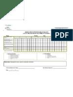 Adequação no processo de avaliação