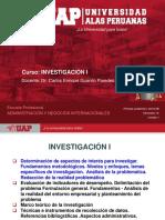 Investigacion i, Semana 1, Adnnii