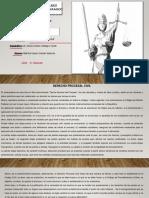 Derecho Procesal Civil_ Reseña y Mapa de Secuencias_U_1_A_3