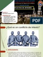 1. 2. Conflictos de Interes