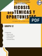 Micosis Sistemicas Y Oportunistas