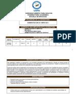 Universidad Abierta Para Adultos Vicerrectoría Académica Escuela de Negocios Programa de La Asignatura