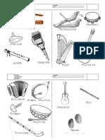 Instrumentos Musicales Por Zona