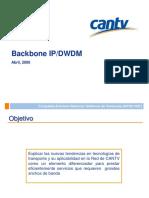 Bakcbone_ip/DWDM