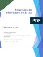 Responsabilidad internacional del estado