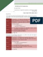 Simbologia de Argumentos U2 A2