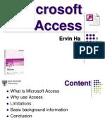 Database Concepts (MSAccessModule2)