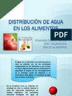 Expo Distribucion de Agua en Los Alimentos