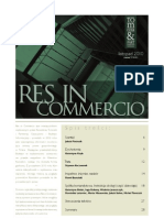 Res in Commercio 11/2010