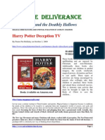 Harry Potter Deathly Hallows ~ MAGICAL MIND BLOWING AND SPIRITUAL POLLUTION OF WORLD'S CHILDREN