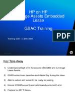 Leverage Asset ICOEM GSAO Training