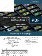 Effect of Sigma Delta Modulator on the Phase Noise of PLL2