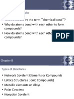 Types of Compounds, Solid Structures, IMFs