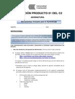 Consigna Evaluación Producto 01 Del C2