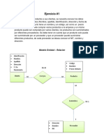 266573487 Ejercicios de Modelo Entidad Relacion y Modelo Relacional