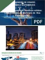 APRESENTAÇÃO - Alexandre de Oliveira Lopes - Cidades Inteligentes Sustentáveis e Humanas