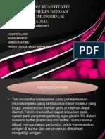 Pemeriksaan Kuantitatif Imunoglubulin Dengan Metode Imunodifusi Radial