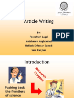 Article Writing.ppt