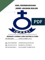 Proposal Pembangunan Gereja Hkbp2