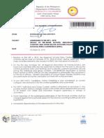 Regional Memorandum No. 682 s.2018