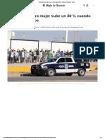 Violencia Contra Mujer Sube Un 30 % Cuando Pierde El Santos, El Siglo de Torreón