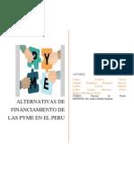 Alternativas de Financiamiento de Las Pymes en El Peru (1)