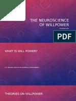 the neuroscience of willpower  1
