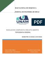 Nivelacion Compuesta Circuito Abierto_victor Melo Vildozo