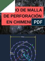 Diseño de Malla de Perforación en Chimeneas