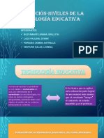 DIAPOSITIVA Evolución Niveles de La Tecnología Educativa Ini II